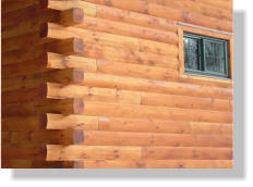 We Recommend Treating Your Log Siding With A Transparent Stain Such As  Sikkens© Cetol Log U0026 Siding. This Stain Offers Optimum Protection And A  Premium Look ...